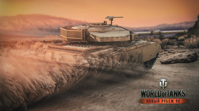 World of Tanks, Centurion Mk.71, video games, wargaming