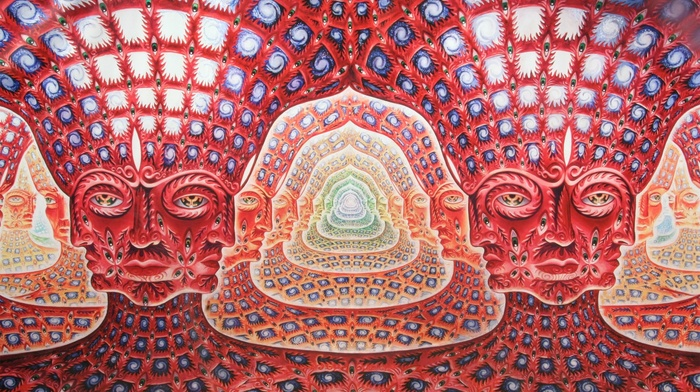 Alex Grey, alternative metal, music, Tool