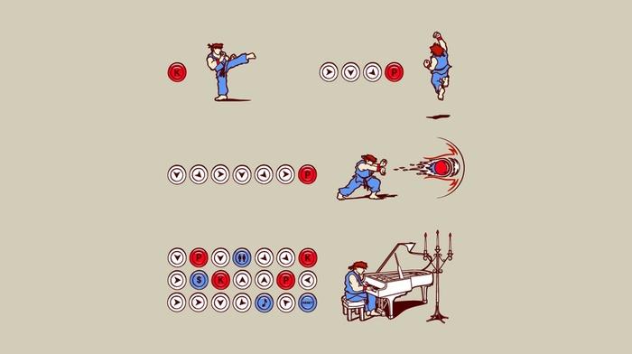 Street Fighter, Hadouken, video games, humor