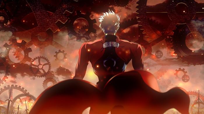 anime, Archer FateStay Night, FateStay Night, anime boys, white hair, fate series