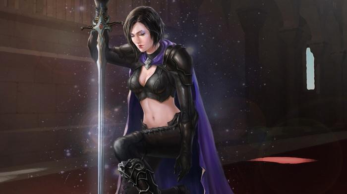 sword, fantasy art