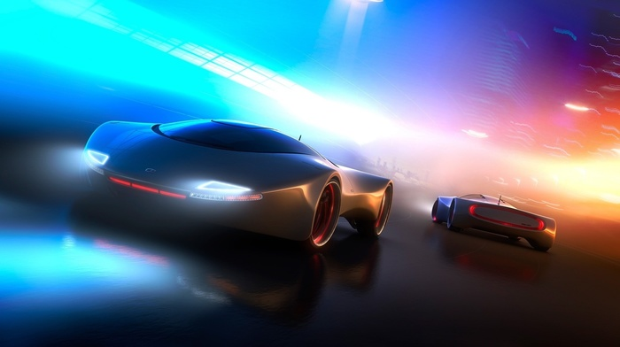 concept cars, futuristic