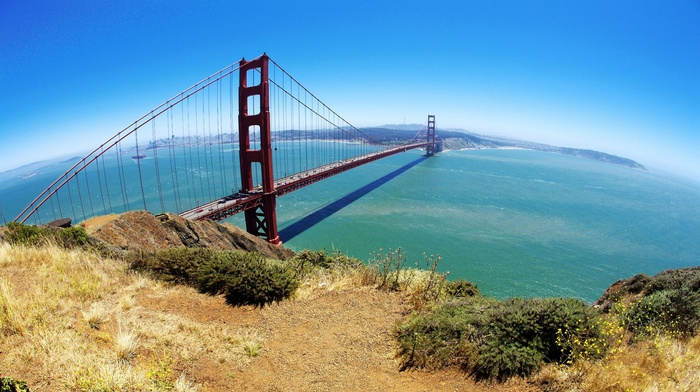 bridge, nature, golden gate bridge, san francisco