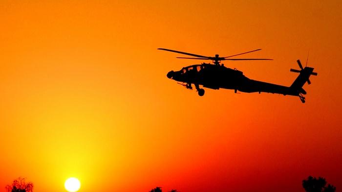 закат, авиация