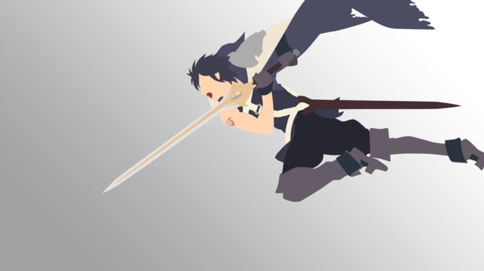 anime vectors, minimalism, Fire Emblem Awakening, Chrom