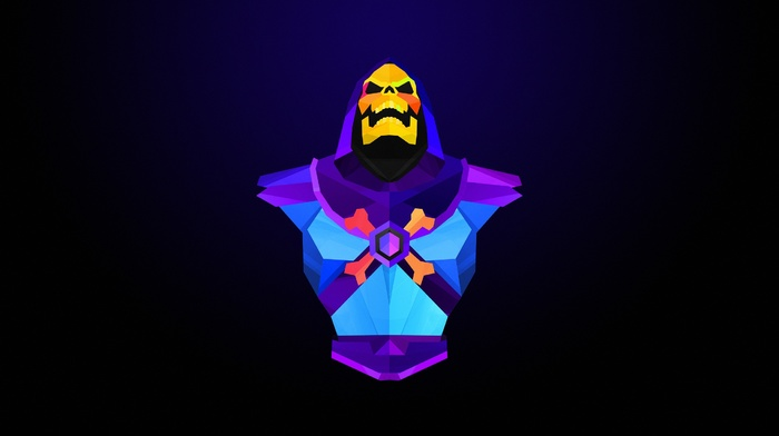 Justin Maller, Skeletor, abstract