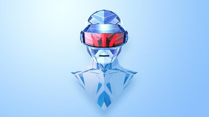 Daft Punk, Justin Maller, абстрактные