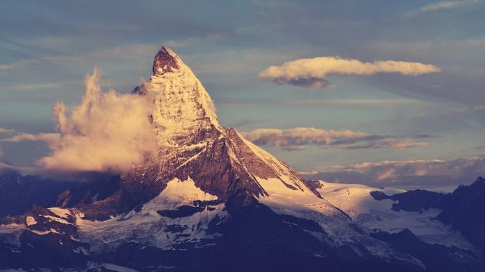 Matternhorn, nature, mountain