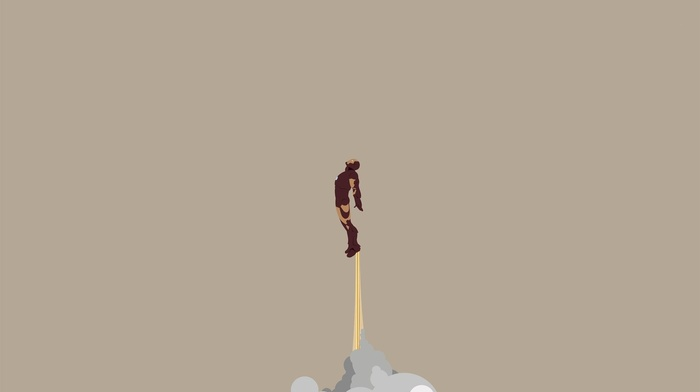 Tony Stark, vector art, minimalism, Iron Man