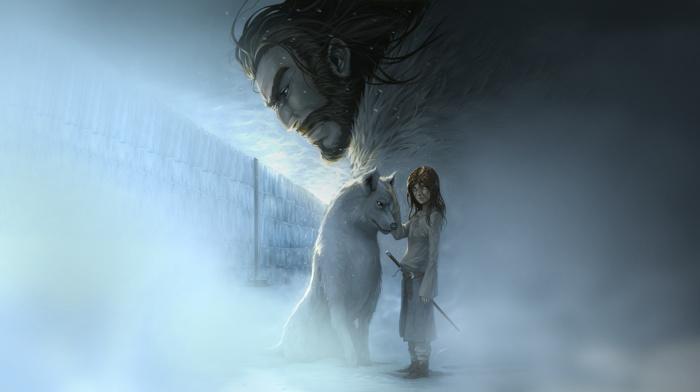 волк, Игра престолов, произведение искусства