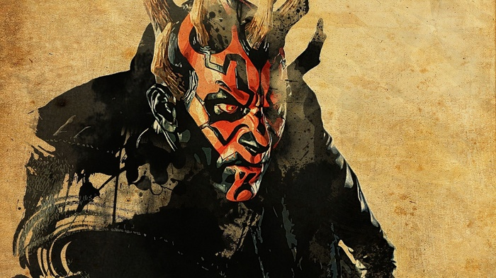 Darth Maul, artwork, Star Wars
