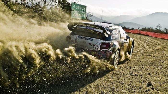 car, Sbastien Loeb, rally cars, wrc