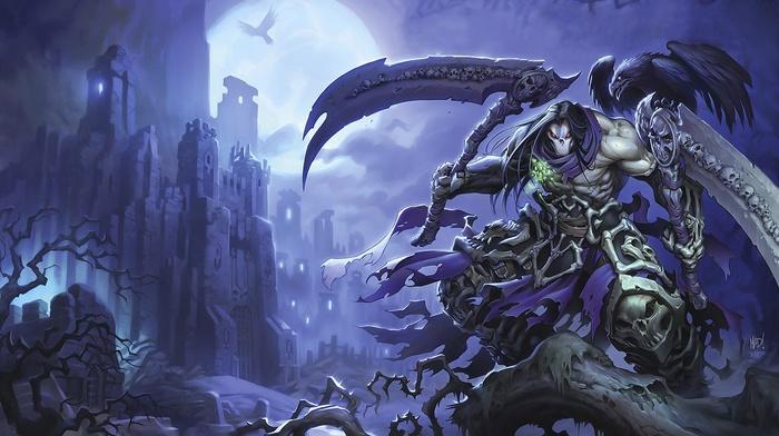 video games, darksiders, darksiders 2