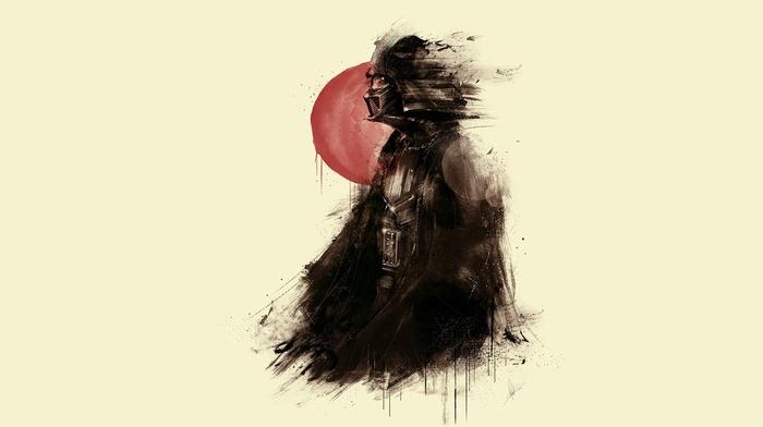 Darth Vader, fan art, Star Wars