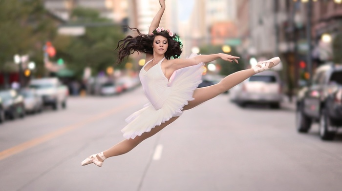 dancers, ballerina, girl