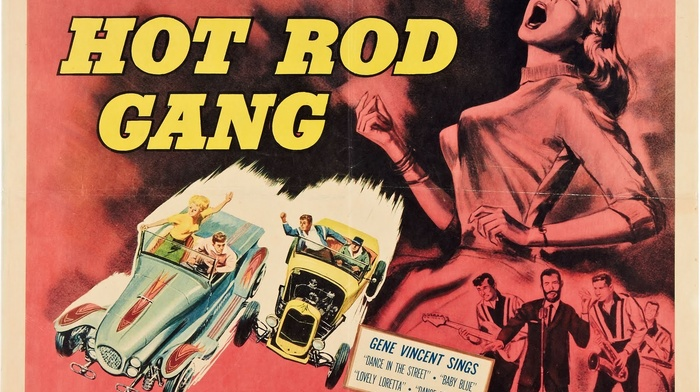 Hot Rod Gang, B movies, Film posters