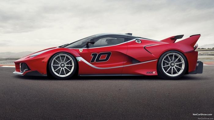 race cars, Ferrari FXX K, Ferrari