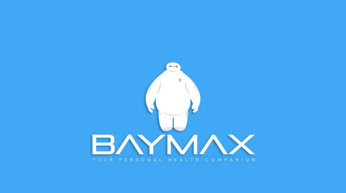 Baymax, simple, Disney, Big Hero 6