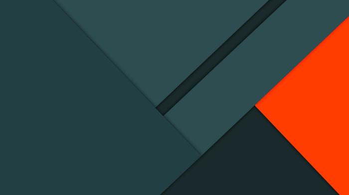 lines, abstract, artwork, minimalism, digital art, orange, geometry