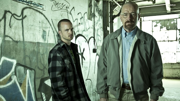 TV, bryan cranston, Aaron Paul, Jessie Pinkman, Walter White, Breaking Bad, Heisenberg