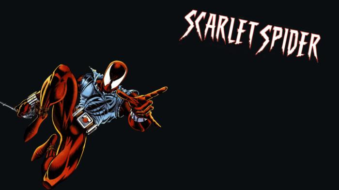Marvel Comics, spider, man, comics, Scarlet Spider