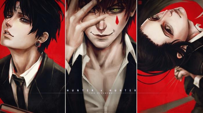 Illumi, Hisoka, anime, Chrollo Lucifer, Hunter x Hunter