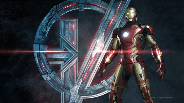 The Avengers, movies, superhero, concept art, Iron Man, Avengers Age of Ultron, symbols