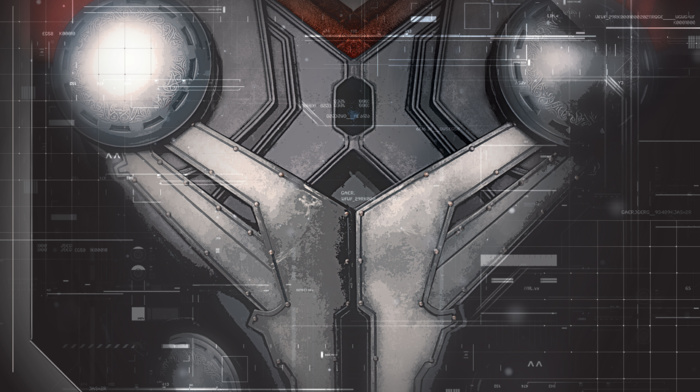 lines, interfaces, Avengers Age of Ultron, superhero, technology, costumes, glowing, gray background, Thor, The Avengers