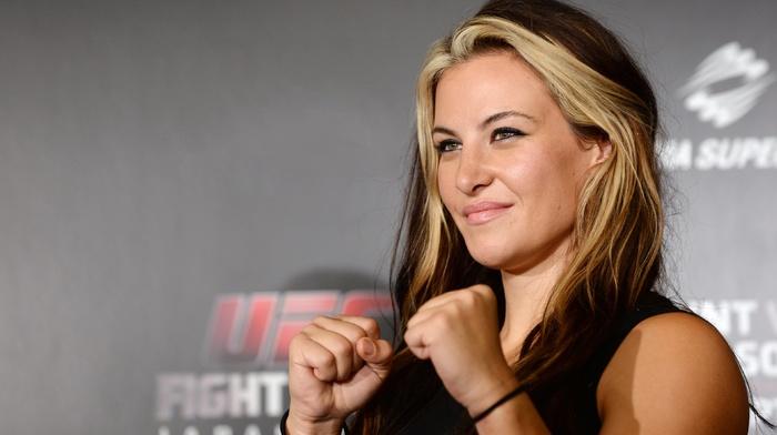 mixed martial arts, UFC, mma, blonde, Miesha Tate
