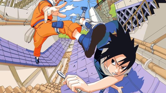 Uchiha Sasuke, Uzumaki Naruto