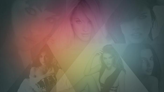 Candice Swanepoel, Barbara Palvin, model, Melissa Clarke, face, girl, Emily Ratajkowski