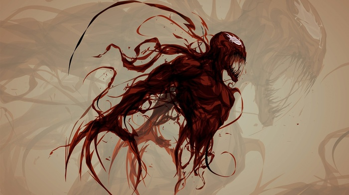 Carnage, Marvel Comics, spider, man