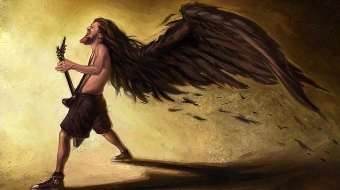 rock music, fantasy art, Pantera, Dimebag Darrel