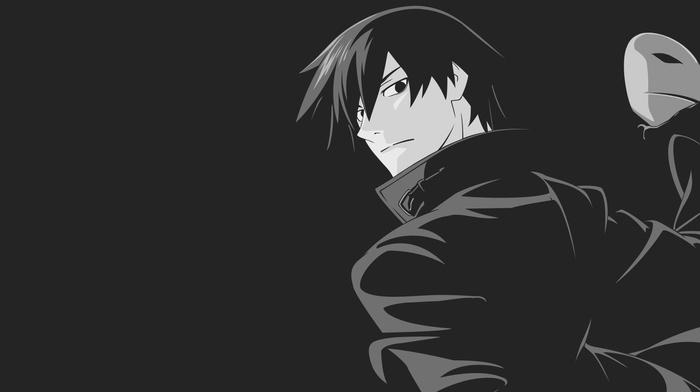 Darker than Black, anime, Hei