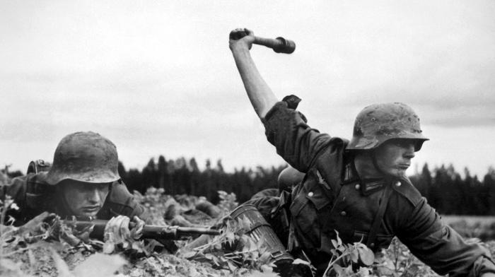 Nazi, soldier, gun, World War II, German Army