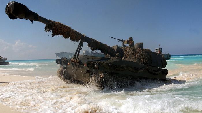 M109A5, army, artillery
