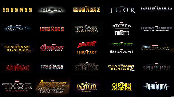 Iron Fist, Iron Man, Daredevil, Captain America The First Avenger, Thor 2 The Dark World, Hulk, captain america the winter soldier, Sp, Avengers Age of Ultron, iron man 2, Thor, Ant, man, Marvel Cinematic Universe, guardians of the galaxy