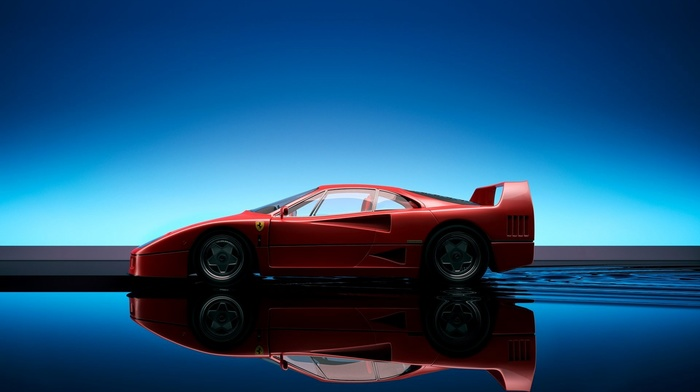 car, Ferrari F40