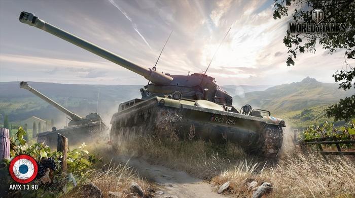 World Of Tanks Amx 13 90 Video Games Wargaming