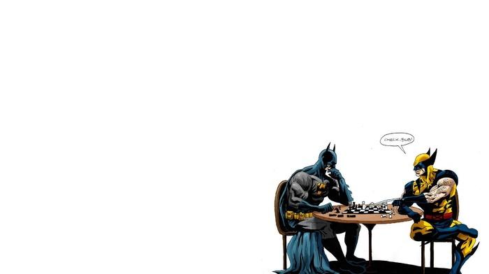 Batman, Wolverine