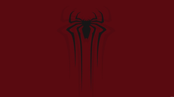 minimalism, spider, man, Marvel Cinematic Universe, walls