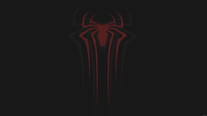 Marvel Cinematic Universe, spider, man, minimalism, walls