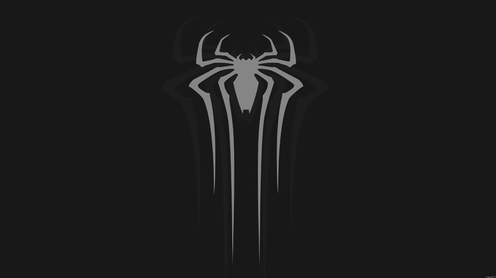 minimalism, Marvel Cinematic Universe, spider, man, walls