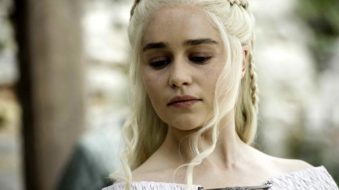 girl, Emilia Clarke, blonde, Game of Thrones, Daenerys Targaryen