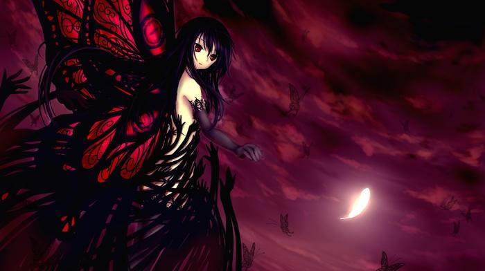 anime girls, Kuroyukihime, anime, Accel World