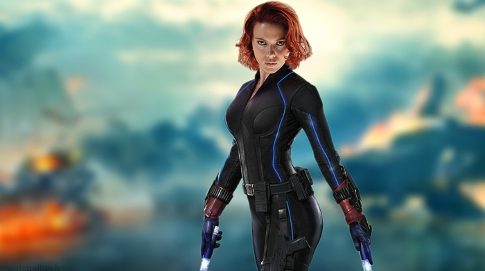 Black Widow, girl, Scarlett Johansson, redhead, The Avengers, Avengers Age of Ultron