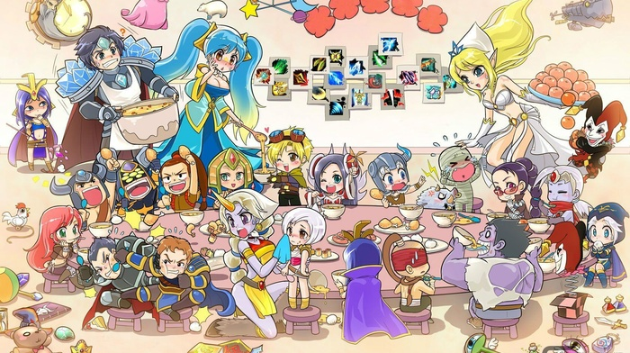 Janna, League of Legends, Sona, Soraka, Taric
