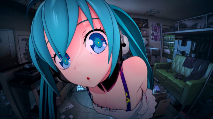 Vocaloid, anime, Hatsune Miku, anime girls