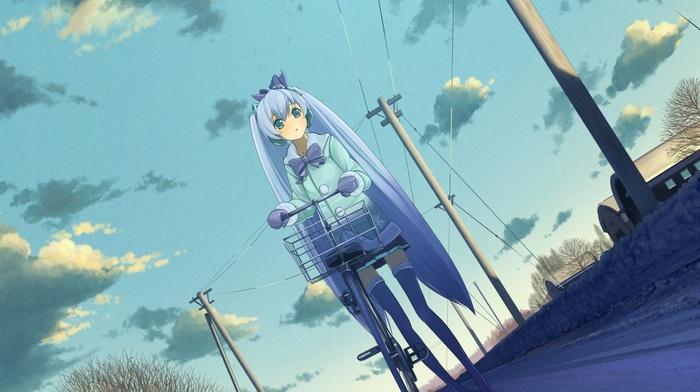 anime girls, Vocaloid, Hatsune Miku