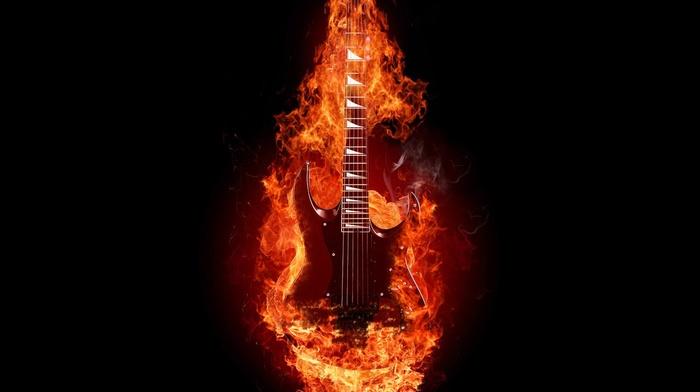 guitar, musical instrument
